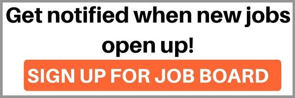 Job Board Signup CTA